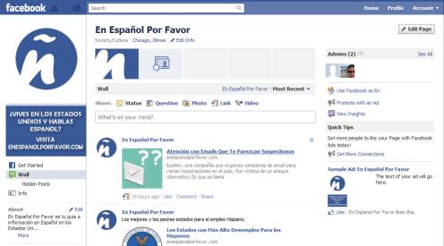 En Espanol Por Favor Facebook